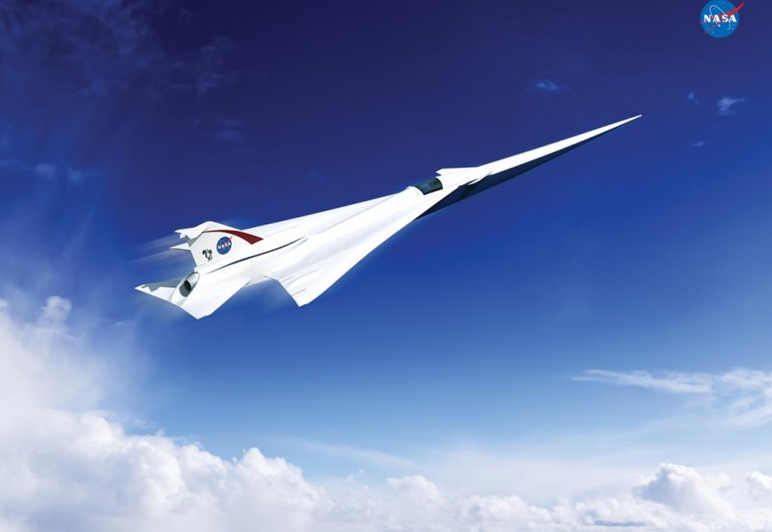 NASA Wants to Build a 'Quieter' Supersonic Jet