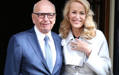 Rupert Murdoch and Jerry Hall Get Married in London